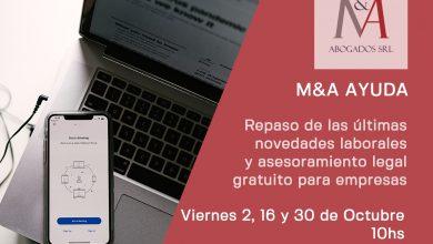 Photo of Nuevo ciclo de M&A Ayuda – Charlas online con espacio para consultas