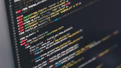 pantalla con codigo de programacion